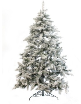 Perfect Holiday 5' Alpine Spruce Snow Flocked Christmas Tree