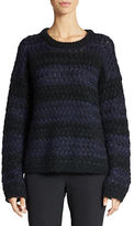 424 Fifth Striped Knit Pullover