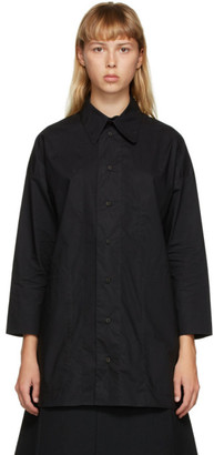 Toogood Black The Woodcutter Shirt