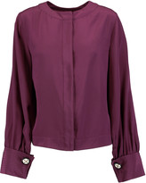 Oscar de la Renta Silk blouse