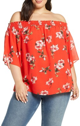 Rachel Roy Off-The-Shoulder Top (Plus Size)