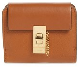 Chloé Drew Leather Square Wallet