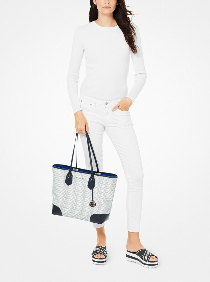 4ba270f09c00 MICHAEL Michael Kors White Large Tote Bags - ShopStyle
