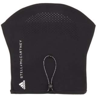 adidas by Stella McCartney Drawstring Neck Warmer - Womens - Black