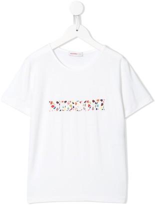 Missoni Kids tile logo print T-shirt