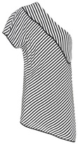 Diane von Furstenberg One Shoulder striped top