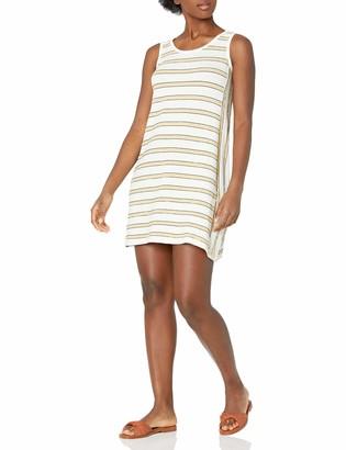 Max Studio Women's Striped Sleeveless Shift Dress