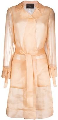 Fabiana Filippi Sheer Mid-Length Coat
