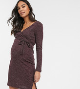 Mamalicious Womens Mljette Lia L//S Woven Nightshirt Nf a Maternity Nightie