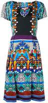 Alberta Ferretti printed flared dress