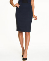 Le Château Viscose Blend High Waist Pencil Skirt