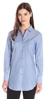 Theory Women's Robertson Icon Shirting Button-Front Shirt