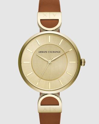 Armani Exchange Multi-Tone Women's Analogue Watch