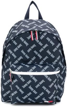 Tommy Hilfiger All Over Logo Backpack