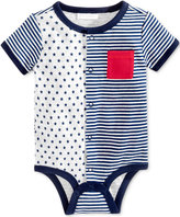 First Impressions Stars and Stripes Cotton Snap-Up Bodysuit, Baby Boys (0-24 months), Created for Macy's