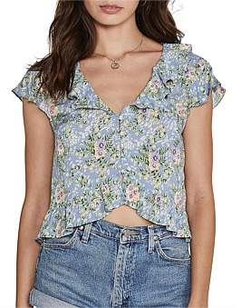 AUGUSTE Ophelia Frill Blouse
