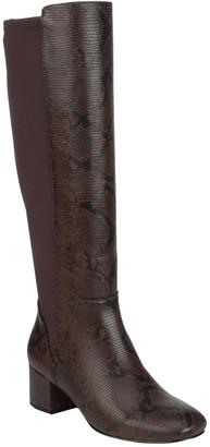 Donald J Pliner Cayden Python-Embossed Leather Boot