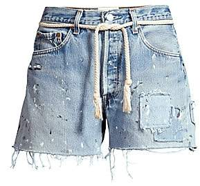 Riley Women's Dukes Cut-Off Distressed Jeans Shorts