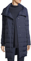 Eileen Fisher Weather-Resistant Down Puffer Cocoon Coat, Petite