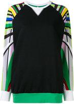 NO KA 'OI No Ka' Oi - Nola sports sweatshirt - women - Cotton/Polyamide/Polyester/Spandex/Elastane - XS