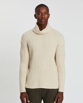 NN07 Davies Wool Roll Neck Jumper