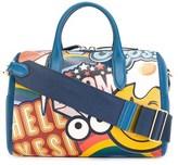 Anya Hindmarch Women's Blue Leather Handbag.