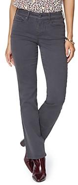 NYDJ Petites Marilyn Straight Leg Jeans in Vintage Pewter