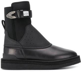 Suicoke Perforated Panel Ankle Boots