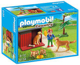 Playmobil NEW Country Life Golden Retrievers with Toy