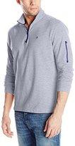 Victorinox Men's Infantry Quarter-Zip Knit Shirt