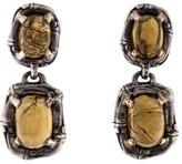 John Hardy Citrine Drop Earrings