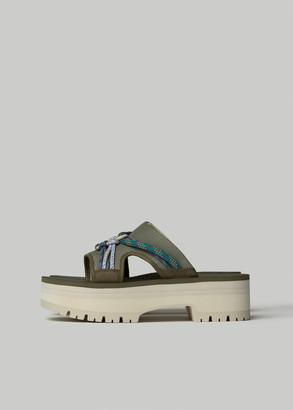 Teva Women's Indio Carabiner Slide Shoes in Bobh Size 6 Textile/Leather/Eva