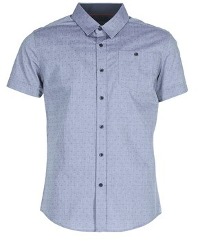 Casual Attitude IPOLAERE men's Short sleeved Shirt in Blue