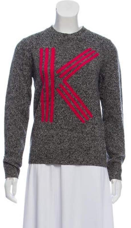2be154488b Wool Knit Sweater Pink Wool Knit Sweater