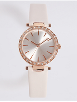 M&S Collection Glam Glitter Strap Watch