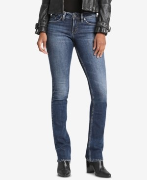 Silver Jeans Co. Suki Mid Rise Slim Bootcut Jeans