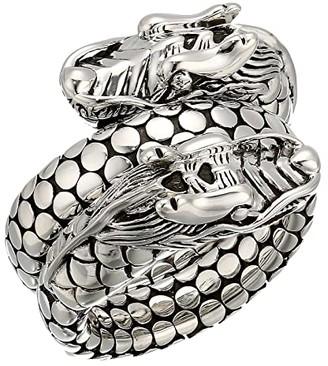 John Hardy Legends Naga Coil Ring (Silver) Ring