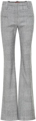 Altuzarra Serge checked wool-blend pants