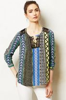 Tracy Reese Lace-Trimmed Henley