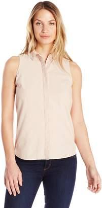 Olive + Oak Olive & Oak Women's Button Back Sleeveless Shirt