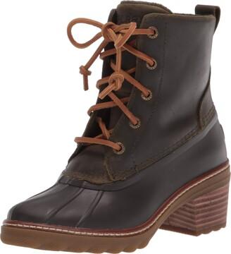 Sperry Women's Saltwater Heel Leather Boot