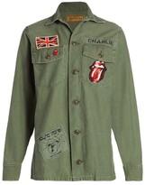 MadeWorn Rolling Stones Sequin Jacket