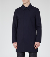Reiss Chatsworth CONCEALED PLACKET MAC