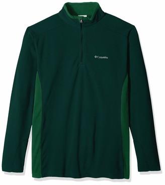Columbia Men's Big-Tall Klamath Range II Big & Tall Half Zip Sweater -dark Ivy