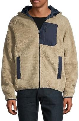 Buffalo David Bitton Hooded Faux Fur Jacket
