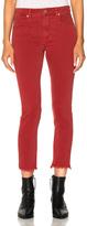 Etoile Isabel Marant Padova Biker Jeans in Red.