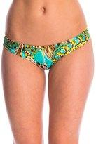 Luli Fama Swimwear Moon Princess Ruched Bikini Bottom 8146809