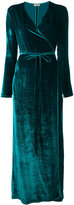 Attico Raquel velvet dress