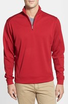 Cutter & Buck Men's Big & Tall Drytec Half Zip Pullover