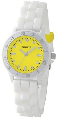 Newave Unisex Quartz Watch Analogue Display and Silicone Strap NWH218BJ